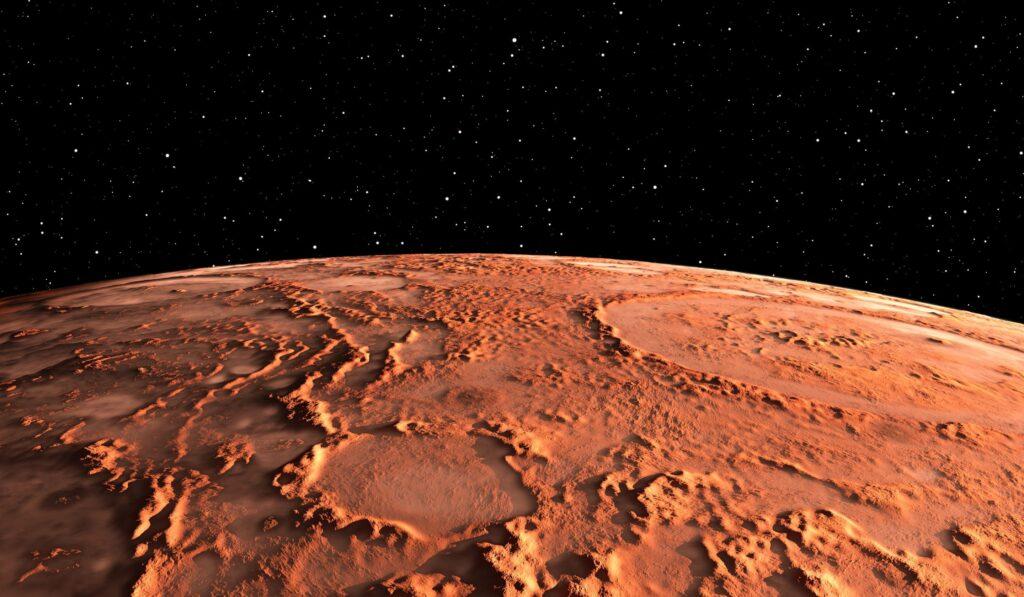 Carta a la humanidad desde 2100. Marte