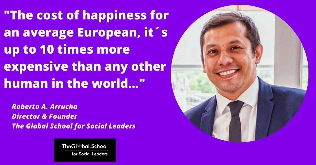 Happiness of Europe