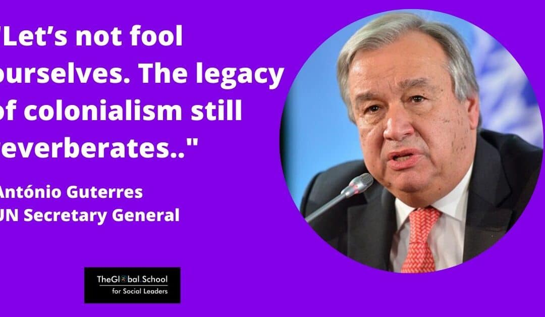 «Let's not fool ourselves», UN Secretary General Antonio Guterres slams inequality falsehoods
